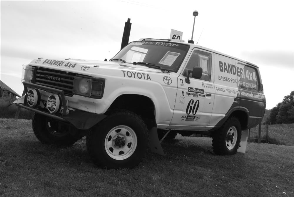 Toyota Land Cruiser HJ61 course