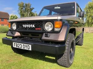 toyota land cruiser LJ70